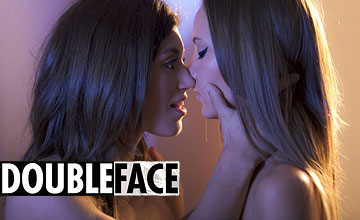 DoubleFace JuliaRoca and MangoA aka Clover by SexArt