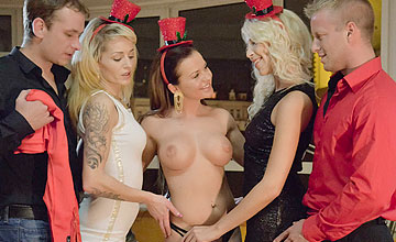 Adele Sunshine, Bella Baby, Karol Lilien, Denis Reed and Thomas - Ready For The Big One by babes.com