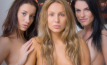 OneDay AikoBell MargotA and WhitneyConroy by sexart