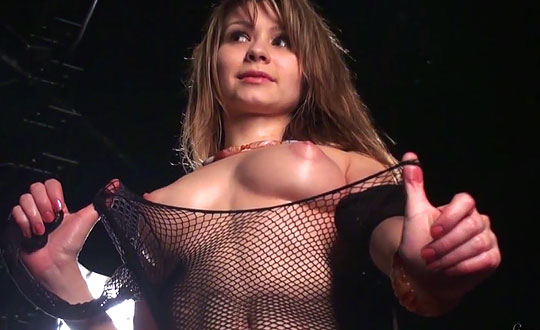 Monika - Tease backstage MonikaD by stunning18