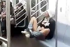 subway masturbation