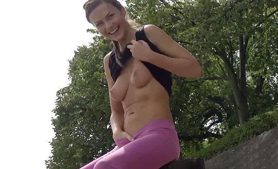 Tina Kay - Undercover Running TinaKay by thelifeerotic