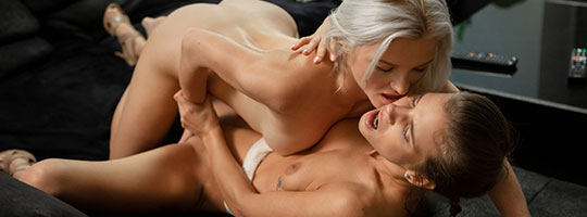 Zazie Skymm & Sarah Key - Those Girls  by SexArt