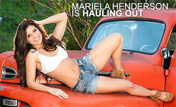 Mariela Henderson is Hauling Out