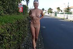 Naakt wandelen met Cindy