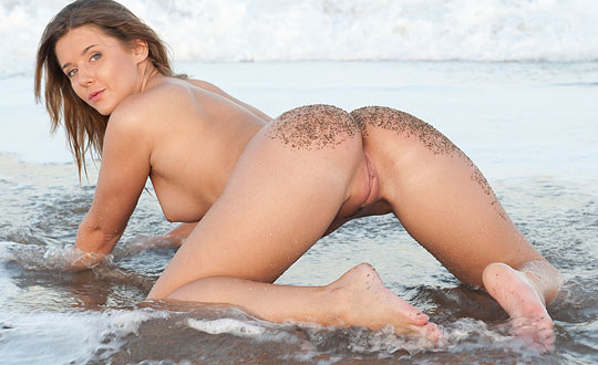 Sybil A - By the Beach SybilA by MetArt